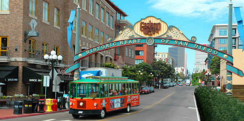 San Diego, CA Gaslamp Quarter/East Village Photos: